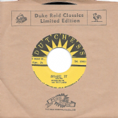 Alton Ellis & The Flames - Shake It / Tommy McCook - 1-2-3 Kick (Dutchess / Corner Stone) JPN 7""